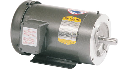 25 HP TEFC Electric Motor